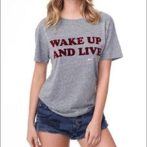 Spiritual Gangster Women's Gray Wake Up And Live